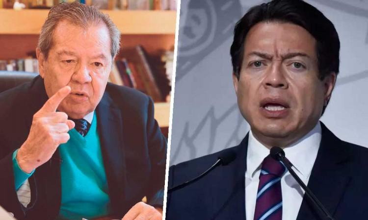 Porfirio Muñoz y Mario Delgado empatan elección para dirigencia de Morena