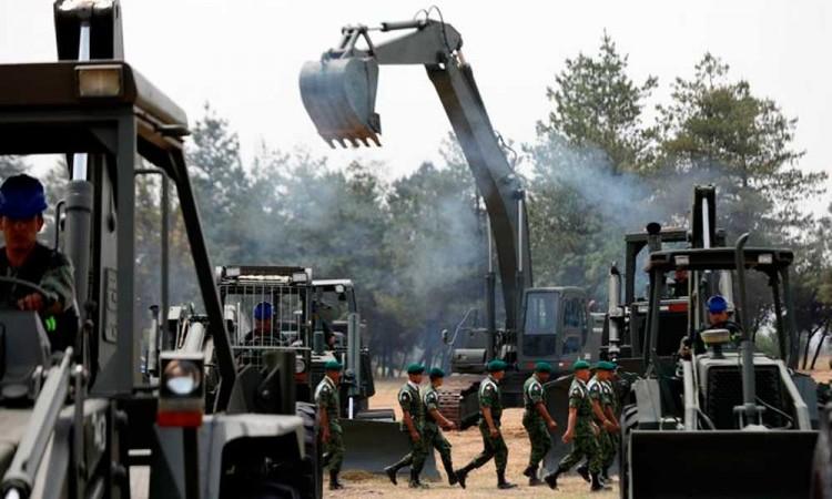 Sedena defiende que militares construyan el Tren Maya y más obras