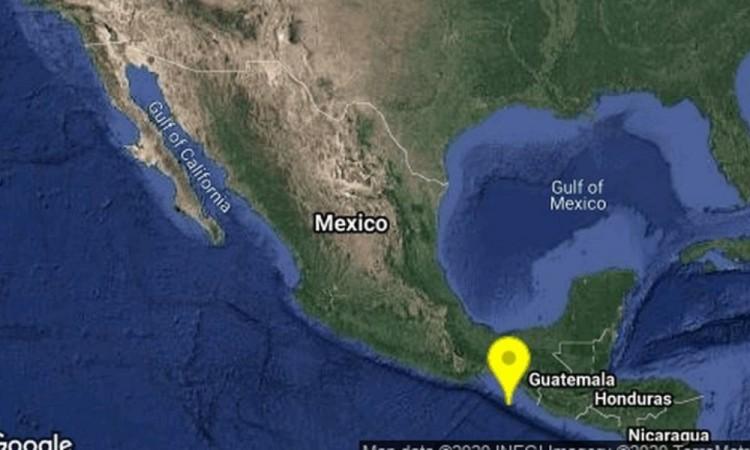Registran varios sismos en Chiapas de hasta 5.5 grados