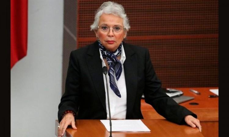 Olga Sánchez Cordero señaló que dialogaron varios funcionarios federales.