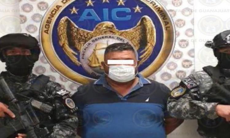 """Detienen al """"Azul"""", presunto sucesor del """"Marro"""" en el Cártel de Santa Rosa de Lima"""