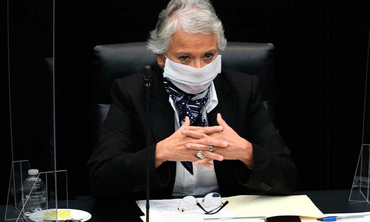 Sánchez Cordero reconoce que feminicidios no cesaron durante pandemia