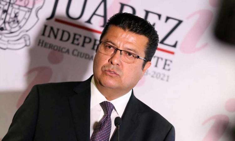 Parece chiste pero es anécdota: alcalde de Cd. Juárez se contagia de Covid-19 otra vez
