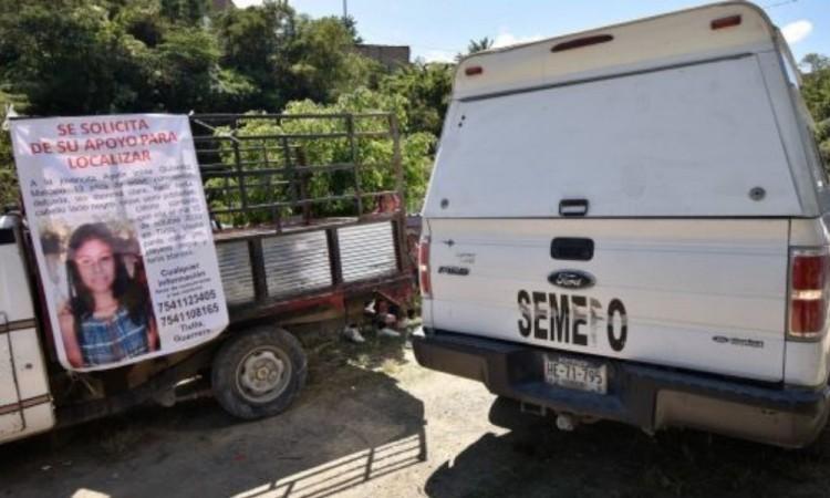 Localizan cuerpo mutilado de Ayelín, niña de 13 años desaparecida en Guerrero