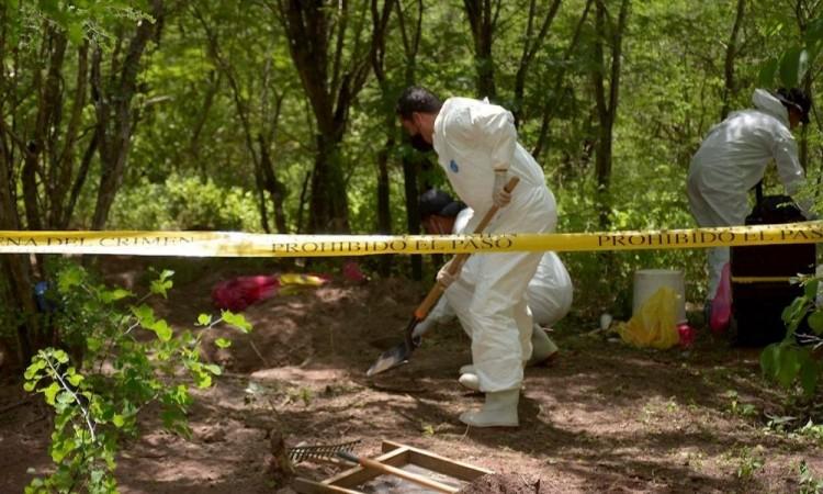 Reconoce Fiscalía de Sinaloa que hay 1217 muertos sin identificar