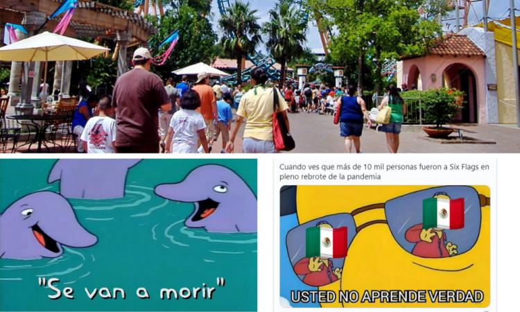 Reapertura de Six Flags desata los memes