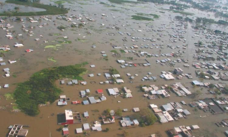 México reporta más de 50 mil afectados por las lluvias en el sureste del país