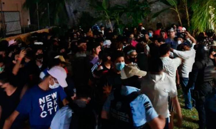 En Acapulco, cancelaron dos fiestas con casi 300 invitados