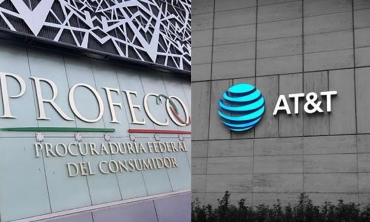 Demanda Profeco a AT&T por cobros irregulares a miles consumidores