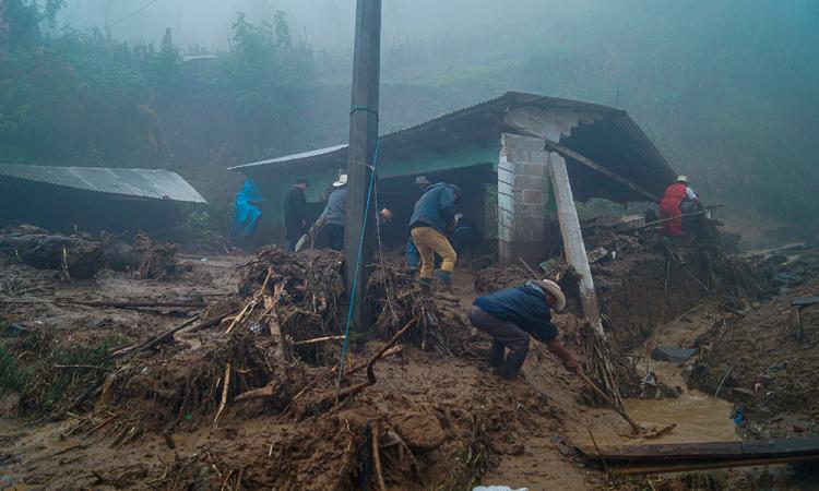 Eta provoca decesos y daños materiales en Tabasco y Chiapas