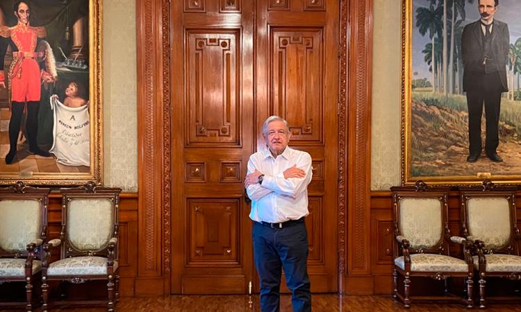 López Obrador felicita al nuevo presidente de Bolivia