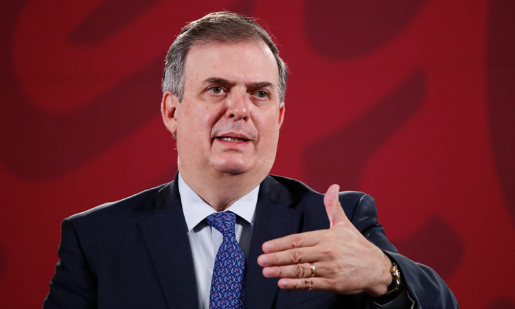 Marcelo Ebrard descarta 'pleito' con Biden por la polémica de AMLO