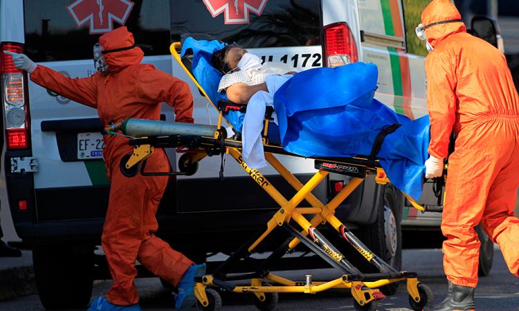 México registra 96 mil 430 decesos y 986 mil 177 casos de covid-19