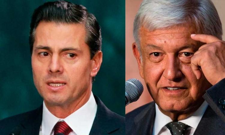 AMLO dice que no interpondrá denuncia contra Peña Nieto