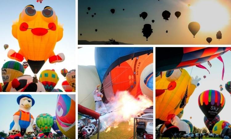 Debido a Covid, sin público realizan Festival Internacional del Globo en Guanajuato