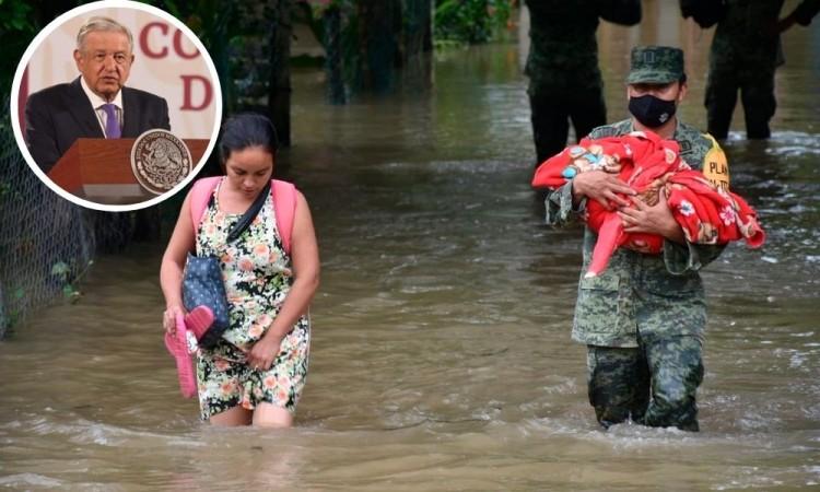 López Obrador optó por inundar zonas indígenas antes que a Villahermosa
