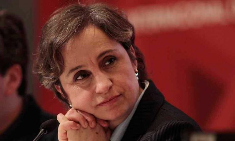 Carmen Aristegui recibe el Premio 2020 de Protección a Periodistas