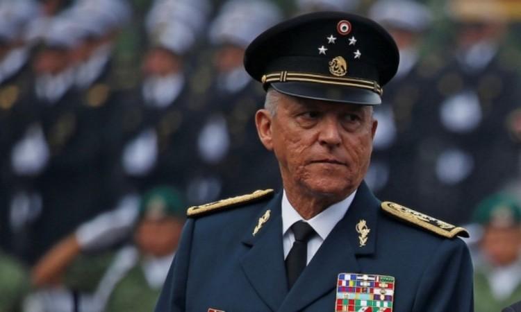 Exsecretario de Defensa Salvador Cienfuegos llegó a México