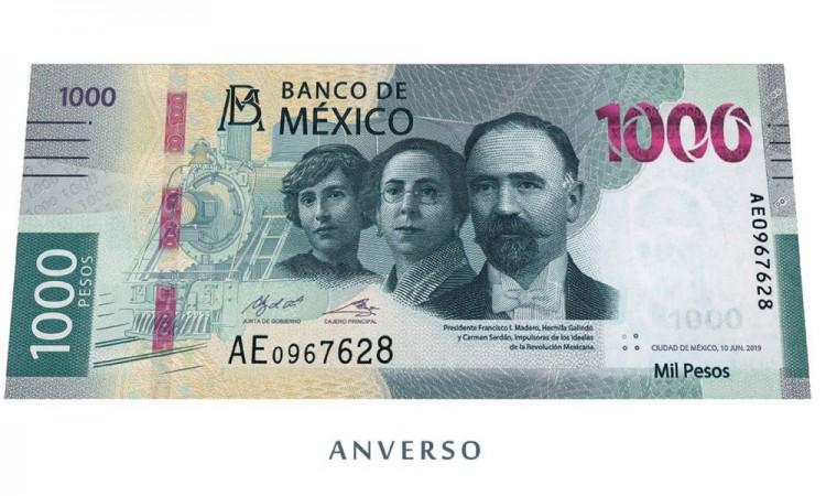 Presentan el nuevo billete de 1,000 pesos