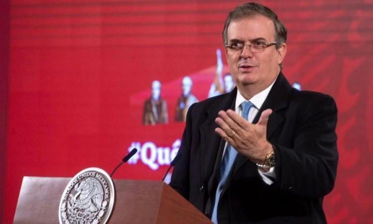 """Sería un """"suicidio"""" para México frente a EU: Ebrard sobre el caso Cienfuegos"""