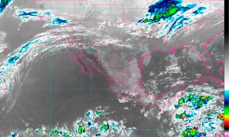 Pronostican lluvias fuertes en Puebla y sur de México