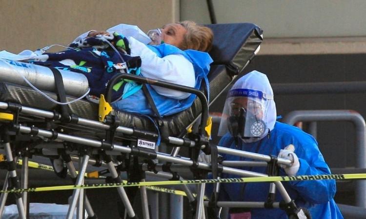 La ocupación hospitalaria es del 31 por ciento en camas con ventiladores.