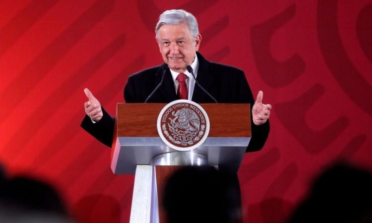López Obrador defendió la gestión de la pandemia en México.