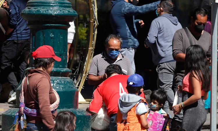 México rebasa los 1.100.000 contagios y las 105.000 muertes por covid-19