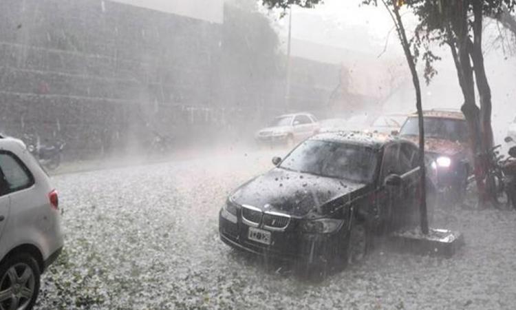 Por frente frío pronostican lluvias intensas en sureste de México