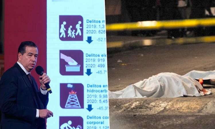 México acumula casi 32.000 homicidios en 2020 hasta noviembre