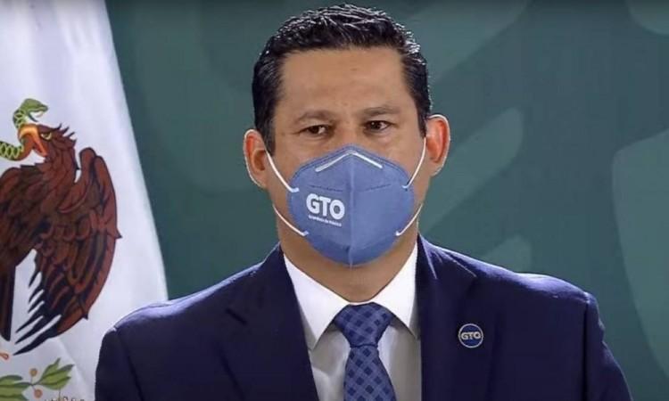 Diego Sinhue Rodríguez gobernador de Guanajuato da positivo a  Covid-19