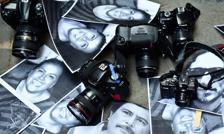 Sin freno, violencia contra periodistas en México
