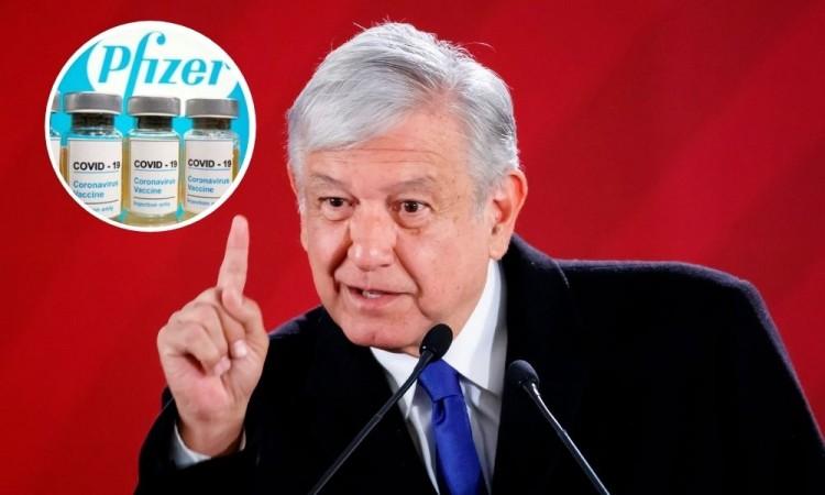López Obrador dice que la vacunación de Covid será voluntaria en México