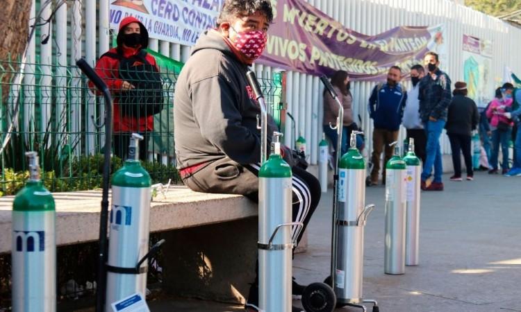 México es el cuarto país del mundo con más infectados de SARS-CoV-2.