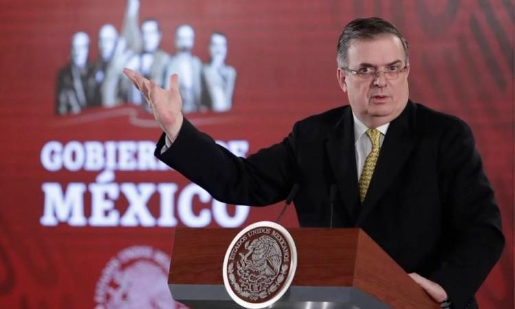 Canciller mexicano y asesor de Seguridad de Biden hablan del tema migratorio