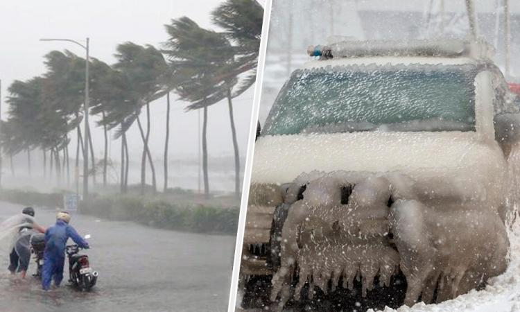 México pronostica heladas y lluvias fuertes en gran parte de su territorio