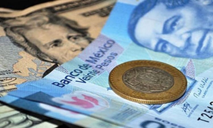 El peso débil el dólar avanza 0.89% por encima de los $20.18 unidades por dólar