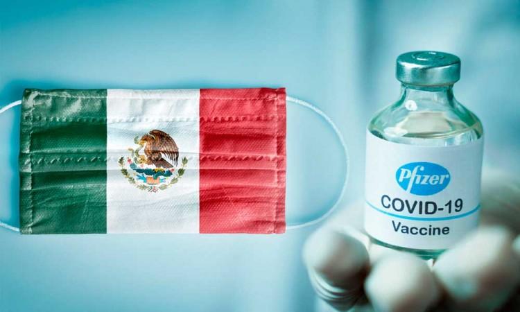México recibirá el martes 436. 800 dosis de la vacuna de Pfizer