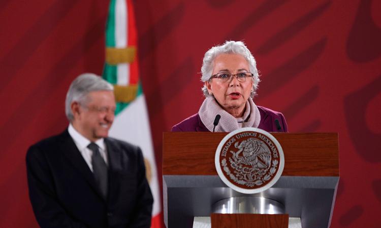 López Obrador está bien y fuerte tras contraer coronavirus, dice Olga Sánchez