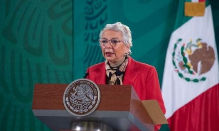 Agradece Sánchez Cordero al pueblo de México apoyo a AMLO