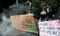 Protestan contra Félix Salgado, candidato a gobernador de Guerrero acusado de abuso