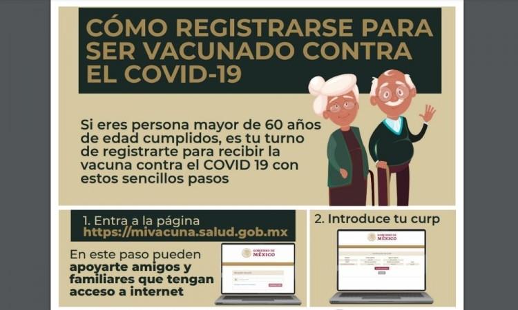 Ahí vamos… Página de vacunación antiCovid en México arranca con fallas