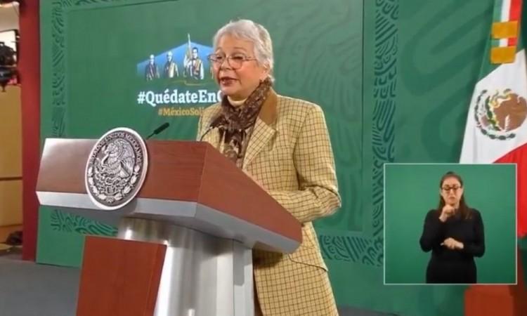 En caso Marín se debe garantizar la presunción de inocencia: Olga Sánchez Cordero