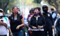 Una Llorona adaptada preside un grito unido contra el feminicidio en México