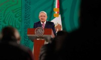López Obrador reaparece en público tras recuperarse de la covid-19