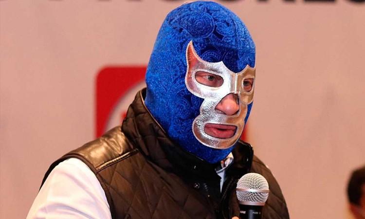 Blue Demon Jr. pretende gobernar en el anonimato