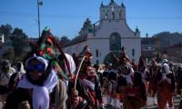 San Juan Chamula celebra ancestral carnaval pese a la pandemia