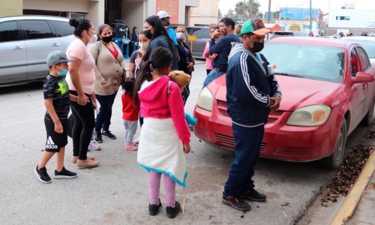 Campamento migrante de Matamoros presenta fallas en solicitudes de asilo