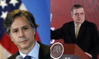 Marcelo Ebrard y Blinken tendrán una reunión virtual este 26 de febrero
