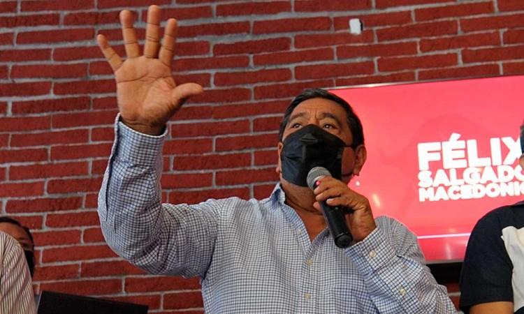 Félix Salgado Macedonio se despide de candidatura a gobernador de Guerrero
